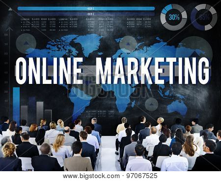 Online Marketing Commerce Digital Internet Concept