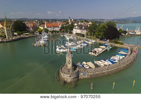 Lindau Port, Germany