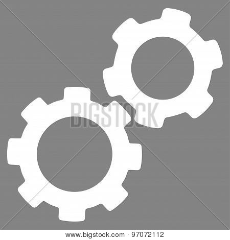 Gears Icon from Commerce Set