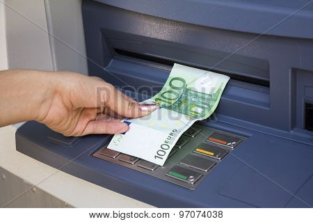 Withdrawal Money Out Of Atm