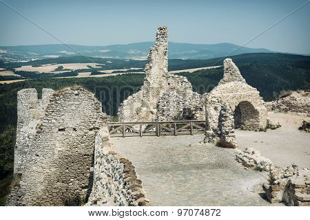 Cachtice Castle, Slovak Republic, Central Europe