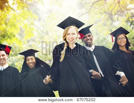 Graduation Students Education Degree Achievement Concept