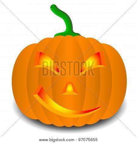 pumpkins for Halloween. Vector illustration.