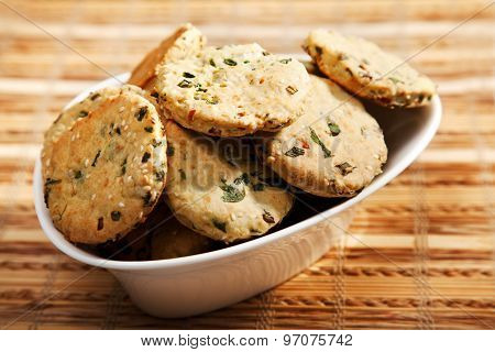 Homemade Biscuits With Onion