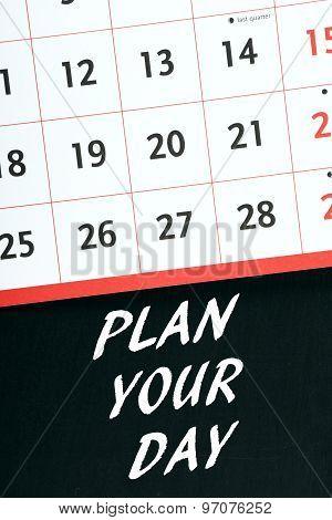Plan Your Day Calendar