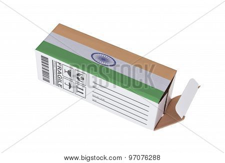 Concept Of Export - Product Of India