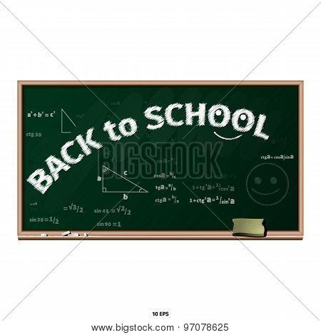 Chalkboard - back to school