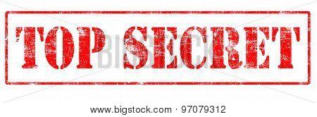 Top Secret - Rubber Stamp