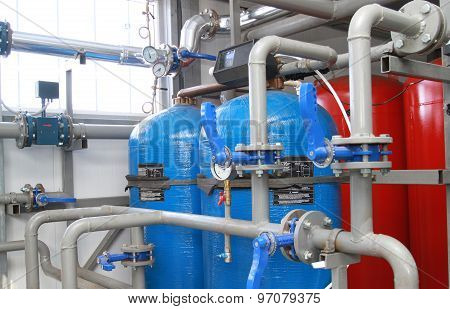 Equipment For Chemical Processing Of Water