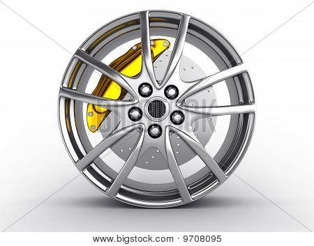 Silver alloy rim