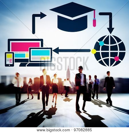 E-learning Education Online Internet Concept