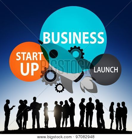 Business Start up Launch Opportunity Corporate Concept
