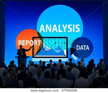Analysis Report Data Information Concept