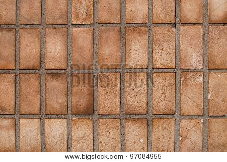 old wall tiles