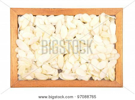 Almond Slices In Frame