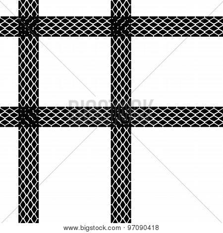 Seamless Wallpaper Winter Tire Tracks Pattern Illustration Vecto