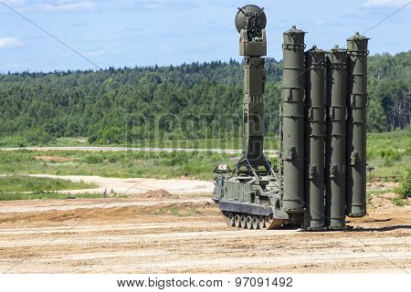 Russian anti-aircraft missile system  of new generation