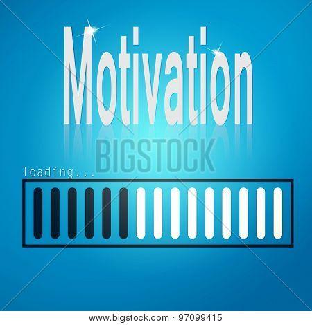 Motivation Blue Loading Bar