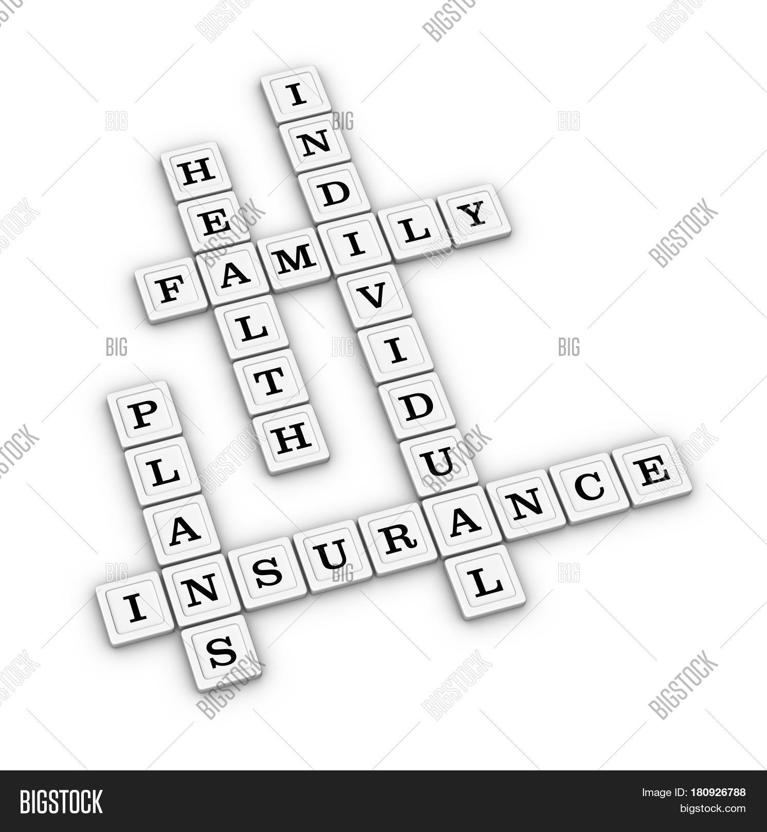 health insurance plans crossword image & photo | bigstock, Powerpoint templates