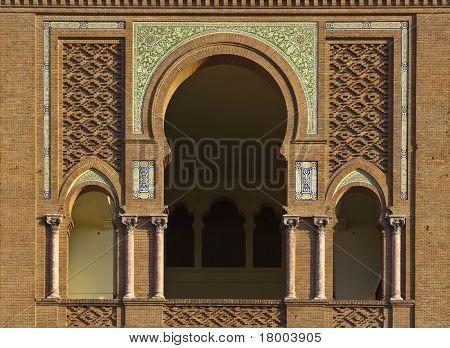 Mozarabic Arch In Las Ventas, Madrid