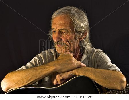 Portrait Guitarist
