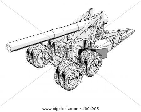 203Mm Howitzer