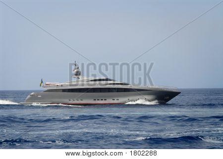 Luxury Yacht, Island Of Capri