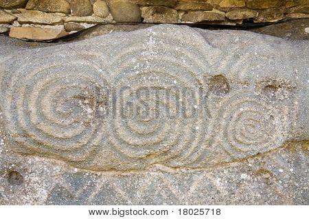 Unesco Heritage - Triple Spiral At Newgrange