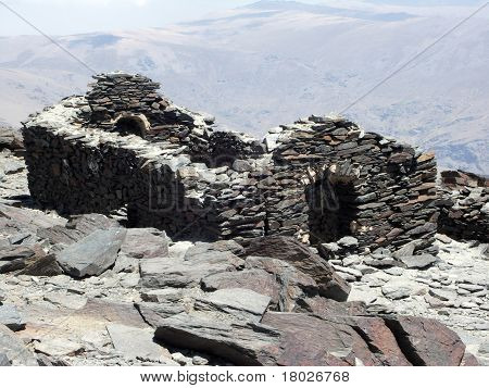 Ruins From Civil Spanish War - Mulhacen