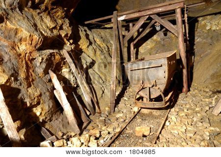 Underground Mine Trolley