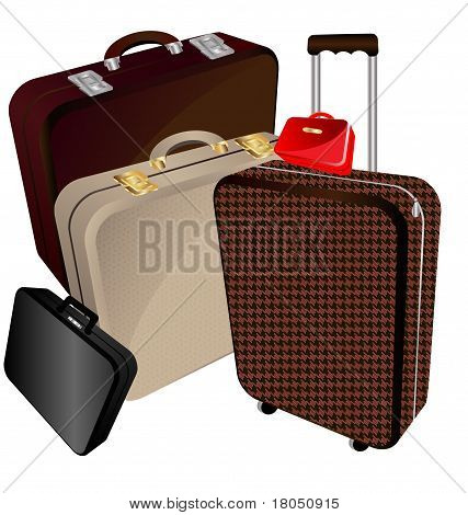 Bugs And Suitcase