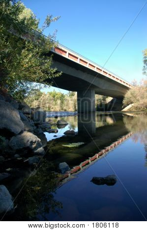 Ponte de estrada rural