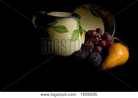 Jug And Fruit