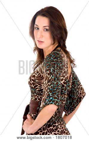 Mode Frau Portrait