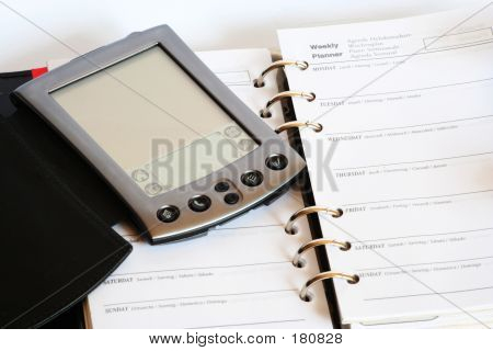 Handheld Computer And A Planner