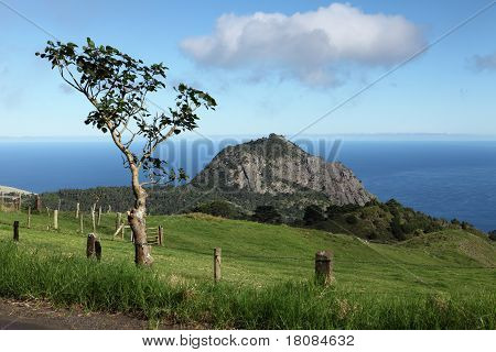 High Hill peak on St Helena