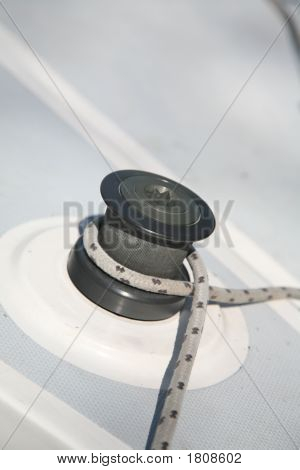 Capstan With Rope