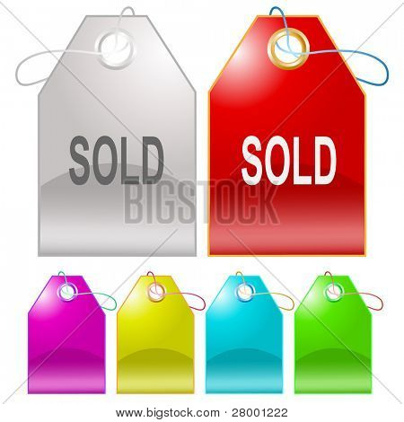 Sold. Raster tags. Vector version is in my portfolio.
