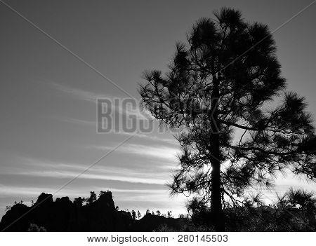 Mountain Landscape At Sunrise Natural