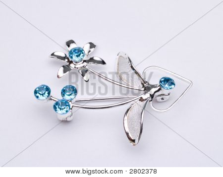 Silver Broach