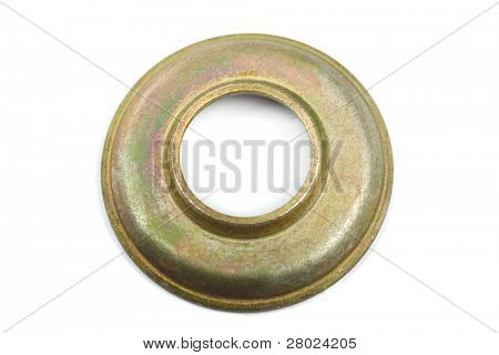 car spare (gasket washer) isolated on white