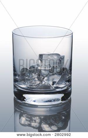 Empty Scotch Glass