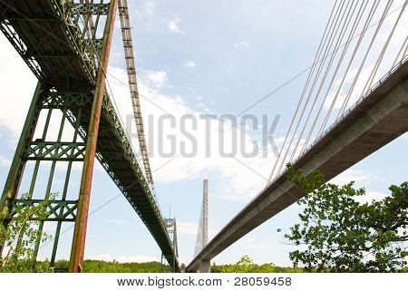Penobscot Narrows bridges