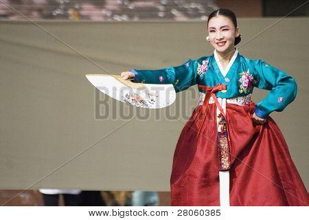 Korean Ethnic Dance Performance