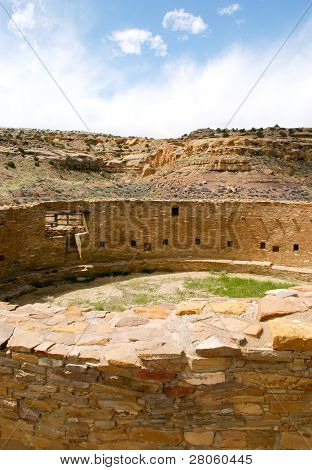 Great Kiva by Casa Rinconada