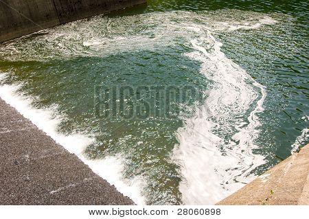 Quaker Lake Darin water runoff