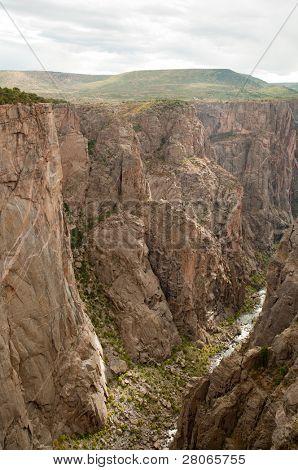 Black Canyon do Rio e Gunnison
