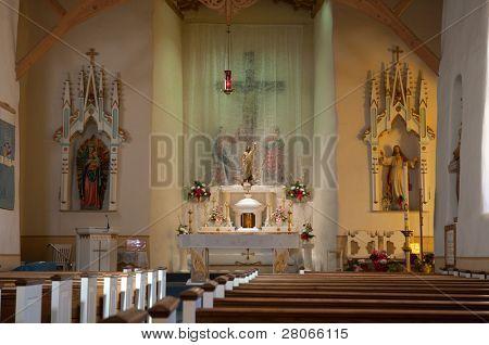 San Miguel de Socorro church interior