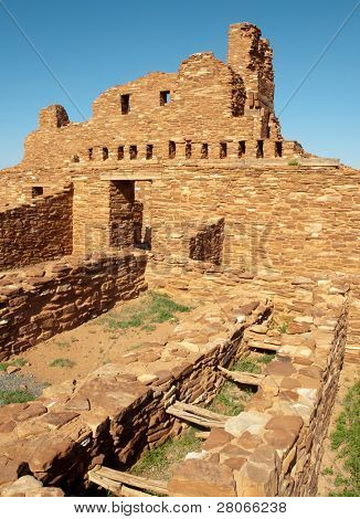 Abó mission ruins at Salinas Pueblo Missions National Monument