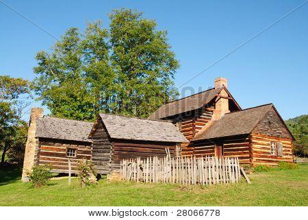 Zebulon Vance Birthplace State Historic Site farm